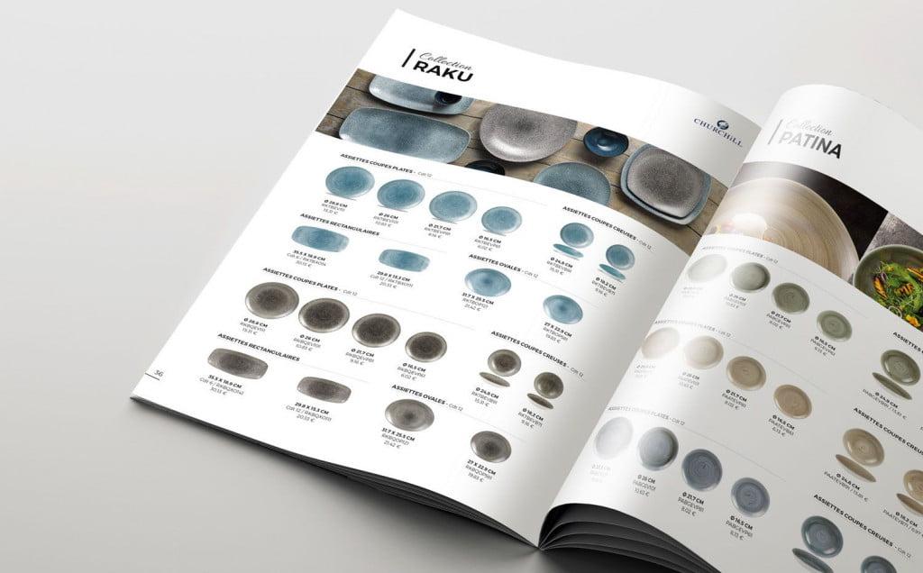 page intérieure - création catalogue