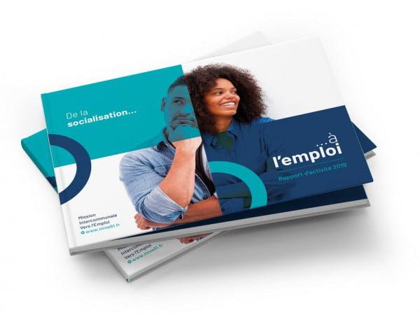 Rapport annuel, agence de communication Essonne