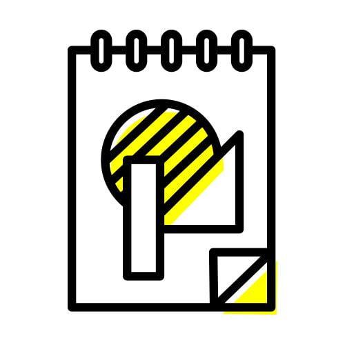 icon charte graphique - identité visuelle