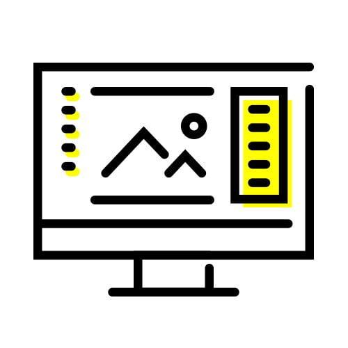 icon création graphique - identité visuelle