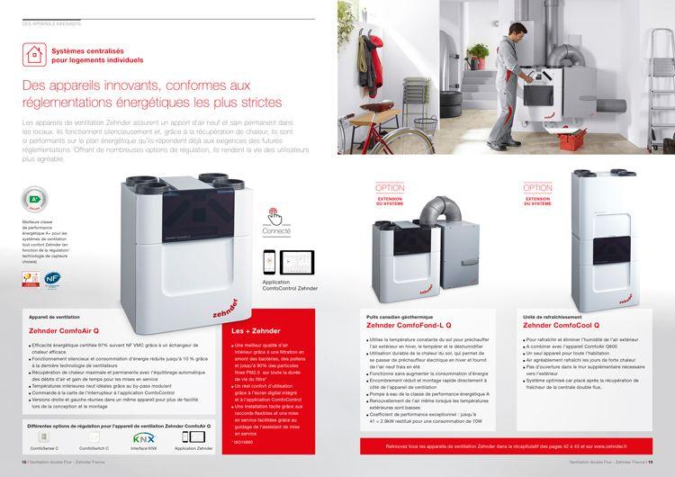 brochure page produit